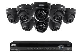 8 channel 2k resolution ip security camera system with 8 domes and