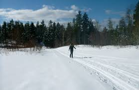 cross country skiing guthook hikes