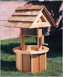 Wishing Well Garden Decor 11 Best Wood Wheelbarrow Ideas Images On Pinterest Wooden