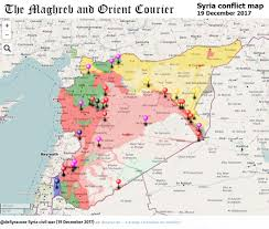 Damascus Syria Map Urgent Syria U2013 Interactive Conflict Map 19th Of December 2017