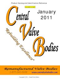 cuerpos de válvulas catálogo pdf