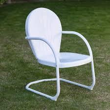 Rocking Chairs Outdoor Coral Coast Vintage Retro Chair Hayneedle