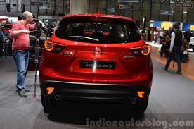 mazda jeep 2015 2015 mazda cx 5 rear view at 2015 geneva motor show indian autos