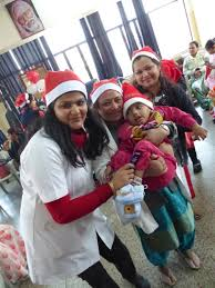support group christmas party amar jyoti institute of physiotherapy