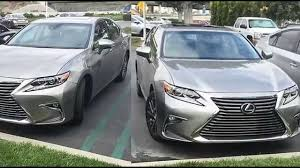 lexus es 350 specs spotted 2016 lexus es 350 in atomic silver youtube