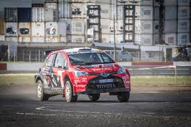 toyota in championship and event victory for toyota in cape rally road
