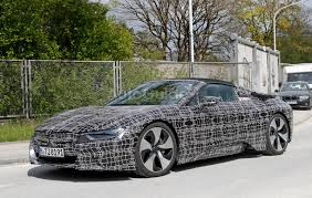 Bmw I8 Convertible - bmw i8 spyder spied looking production ready autoguide com news