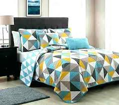 triangle bedding contemporary bed quilts bedding comforter sets modern bedspreads 5