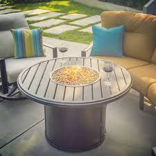 Tropitone Fire Pit by Firepit Tables Custom Pool Builder Venice Florida New Pool