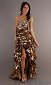 animal print prom dress high low print dresses simply dresses