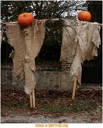 Scary Halloween Decorations For Outside by Easy Scary Halloween Decorations Halloween Homemade Decorations