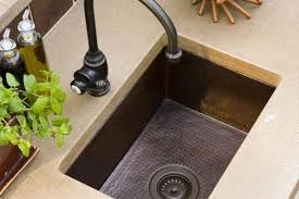 Copper Kitchen Sink Reviews by All About Farmhouse Kitchen Sinks Kitchn