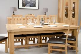 Dining Room Oak Furniture Phoenix Solid Oak Furniture Extra Large Grand Extending Dining Table