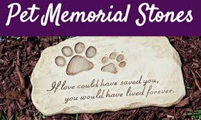pet memorial stones 12 touching pet memorial stones in memory of pet tributes