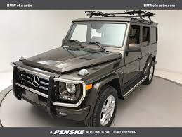 2014 used mercedes benz g class 4matic 4dr g 550 at bmw of austin