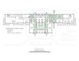 Colorado Convention Center Floor Plan by Historic Station Reuse Denver Union Station Redevelopment Team