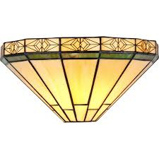 Mission Style Wall Sconce Chloe Lighting Ch31315mi12 Ws1 Belle Tiffany Style 1 Light Mission