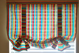Tie Up Window Curtains Loving Your Space Tie Up Curtain Tutorial