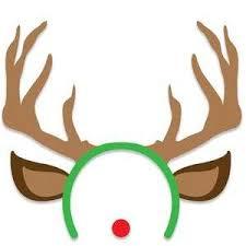 reindeer antlers headband silhouette design store view design 106900 reindeer antler