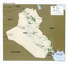 Iraq Province Map Index Research Us Uk Bases In Iraq Part Ii The South Falcon