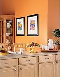 Paint For Kitchen Walls by Kitchen Vibrant Orange Kitchen Walls Light Orange Kitchen