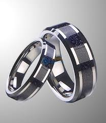 Blue Wedding Rings by Tungsten Culture Tungsten Rings News Tips Reviews Tungsten
