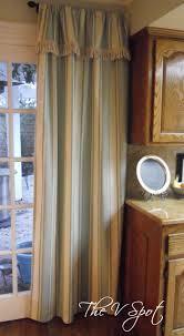no sew curtain panels the v spot