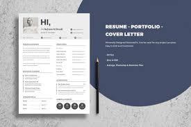 resume portfolio template free portfolio resume cv and cover