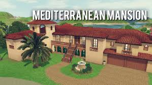 the sims 3 building mediterranean mansion youtube