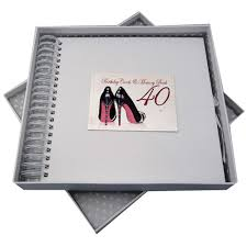 40th birthday card and memory book 11481 olive branch gifts