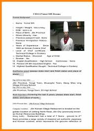 Sample Chef Resume by Sample Resume Of A Chef Application Architect Sample Resume Dummy