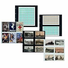 plastic photo album plastic stockpages for sts album and binder philatelic