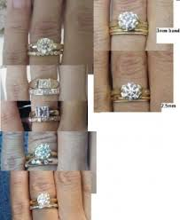 thick wedding bands thick wedding bands with thin erings pricescope forum