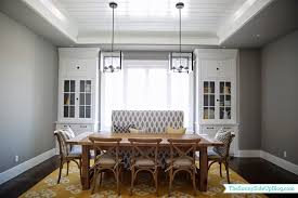 stunning dining room end chairs contemporary home design ideas dining room decor update bench chairs pillows the sunny side
