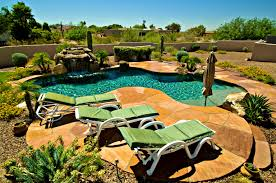 pool garden ideas furniture enchanting backyard landscaping ideas swimming pool