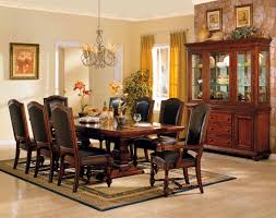 Brown Leather Dining Chairs With Nailheads Furniture Splendid Elegant Leather Dining Chairs For Your Room