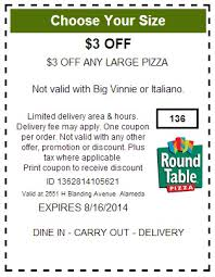 round table pizza coupons 25 off 25 off round table pizza coupons printable code january 2018