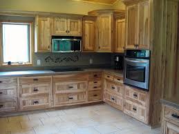 kitchen cabinet knotty hickory kitchen cabinets style remodel