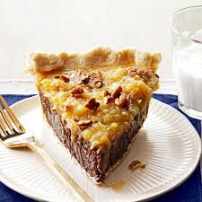 coconut pecan german chocolate pie recipe taste of home