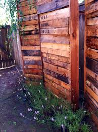 Seating Out Of Pallets by How To Build A Pallet Fence For Almost 0 And 6 Pallet Fence Plan