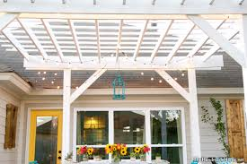 How To Build A Wooden Pergola by Build A Pergola Diy Pergola Houselogic