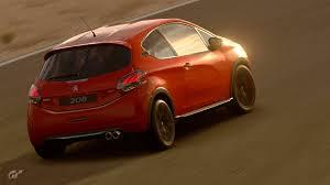 peugeot sport cars peugeot 208 gti by peugeot sport 2014 gran turismo sport