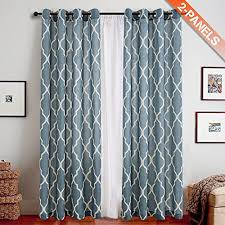 Moroccan Print Curtains Browse For Living Room