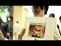 Meme Marriage Proposal - impossibru a marriage proposal by internet meme proposals meme