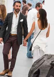 eva longoria is elegant in white as she checks out art fair with