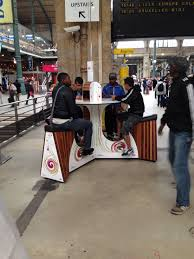 Hanging Charging Station Pedal Charging Station In Paris Pics