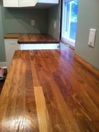 Wooden Kitchen Countertops by Diy Beautiful Wood Countertops For Under 200 Wood Countertops