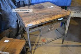butcher block kitchen table wide plank laminate diy wide plank