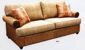 rattan sleeper sofa living room furniture
