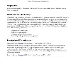 Sample Resume Customer Service How To Make A Customer Service Resume Resume Template And